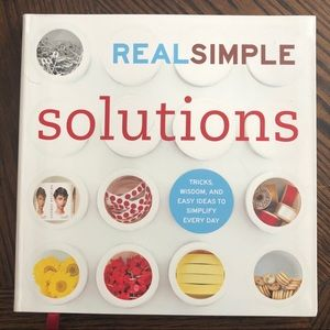 Book Real Simple Solutions Home Tips Wedding Gift